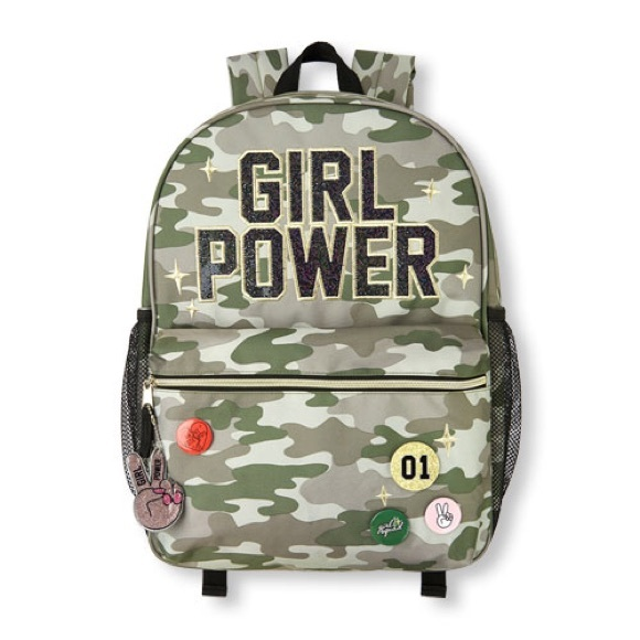 77bde4b5 The Children's Place Accessories   Glitter Girl Power Patch And Pin ...